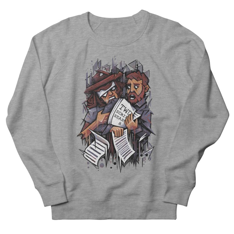 Zombie Carl VS Showrunner Women's Sweatshirt by c0y0te7's Artist Shop