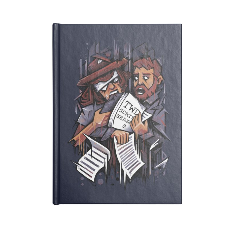 Zombie Carl VS Showrunner Accessories Notebook by c0y0te7's Artist Shop
