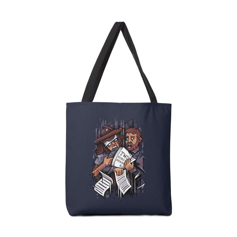 Zombie Carl VS Showrunner Accessories Bag by c0y0te7's Artist Shop