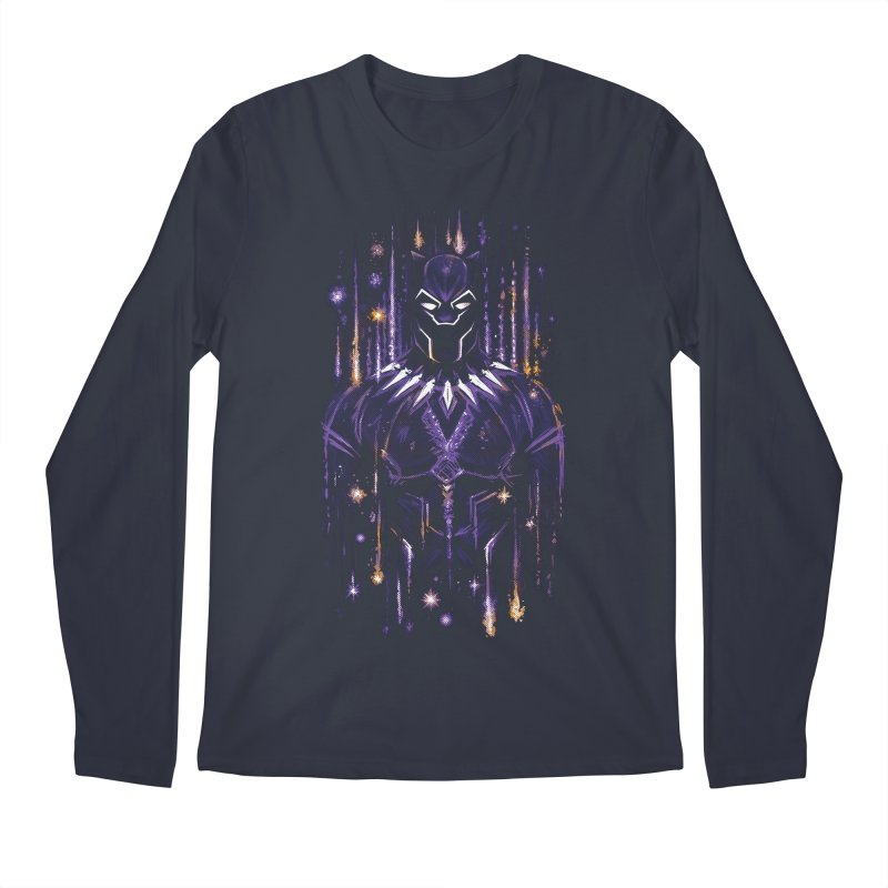 Bright Panther Men's Longsleeve T-Shirt by c0y0te7's Artist Shop