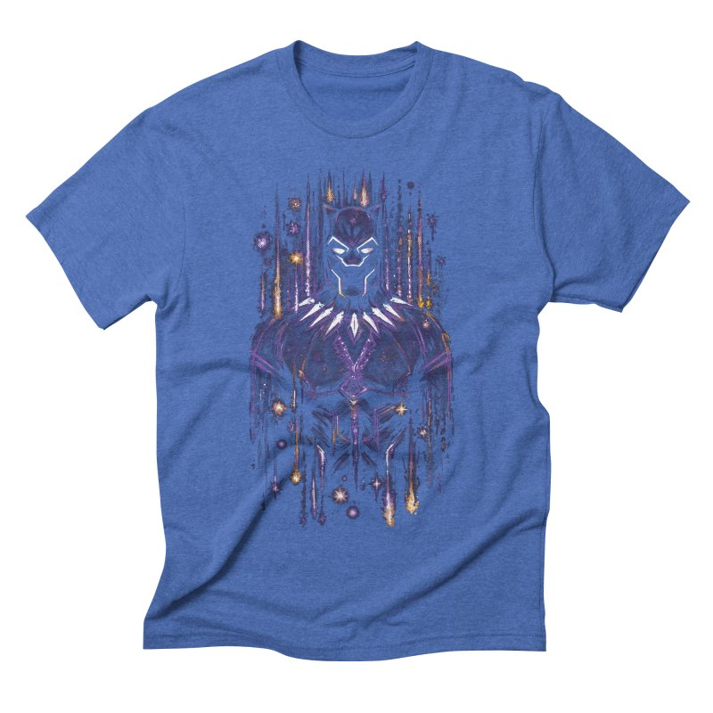 Bright Panther Men's Triblend T-Shirt by c0y0te7's Artist Shop