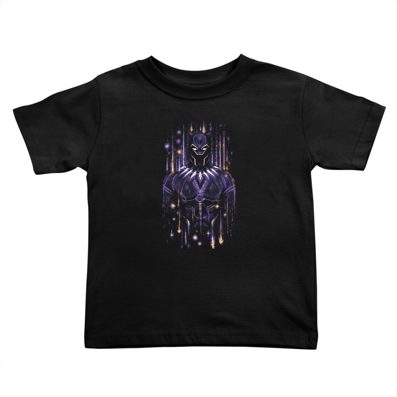 Bright Panther Kids Toddler T-Shirt by c0y0te7's Artist Shop