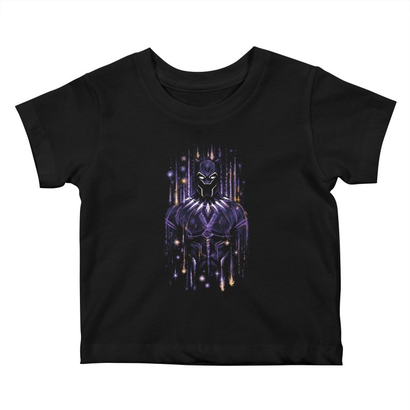 Bright Panther Kids Baby T-Shirt by c0y0te7's Artist Shop