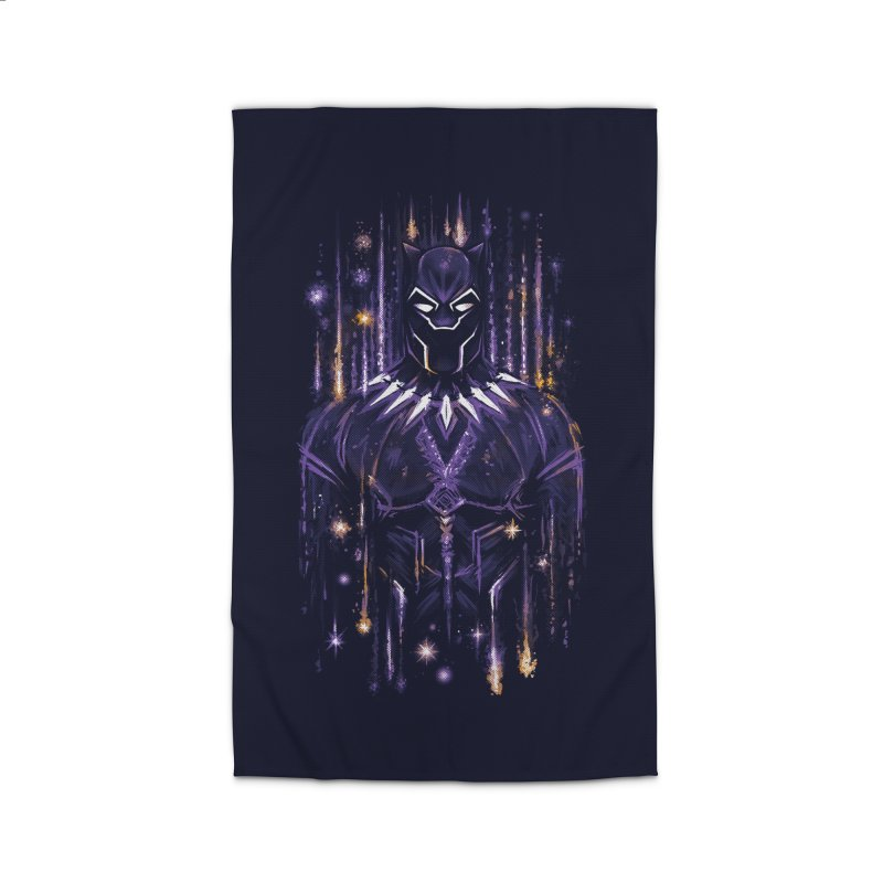 Bright Panther Home Rug by c0y0te7's Artist Shop