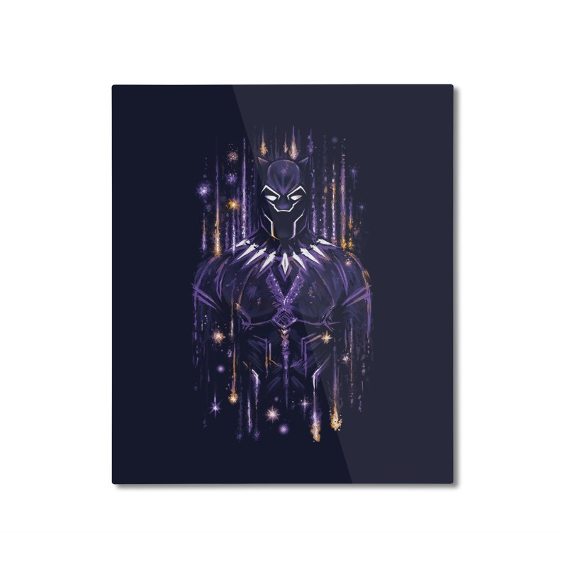 Bright Panther Home Mounted Aluminum Print by c0y0te7's Artist Shop