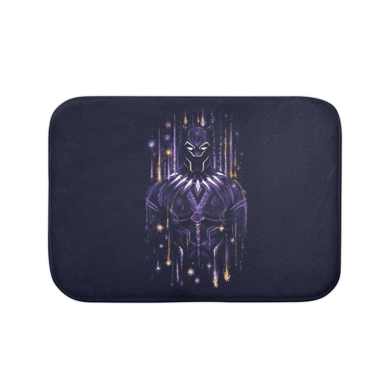 Bright Panther Home Bath Mat by c0y0te7's Artist Shop