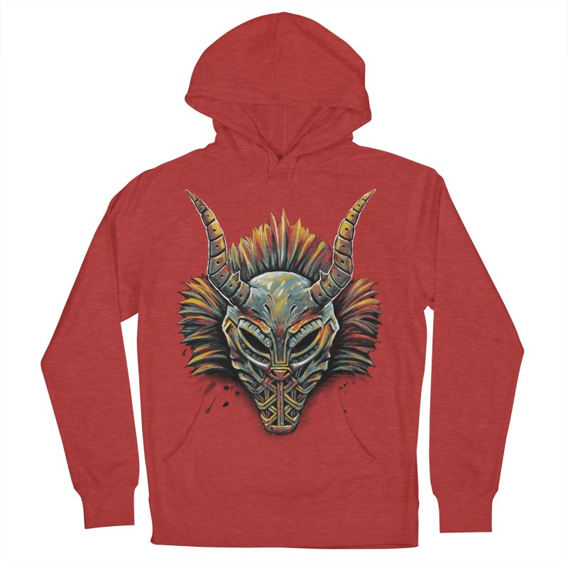 Killmonger Tribal Mask Men's Pullover Hoody by c0y0te7's Artist Shop