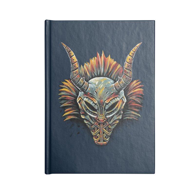 Killmonger Tribal Mask Accessories Notebook by c0y0te7's Artist Shop