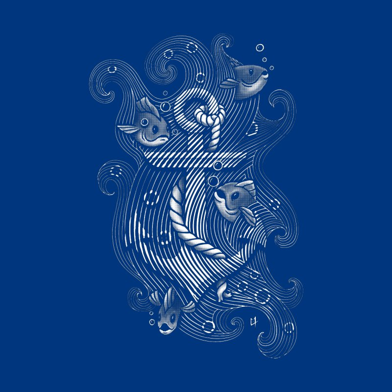 Lost Anchor Men's T-shirt by c0y0te7's Artist Shop