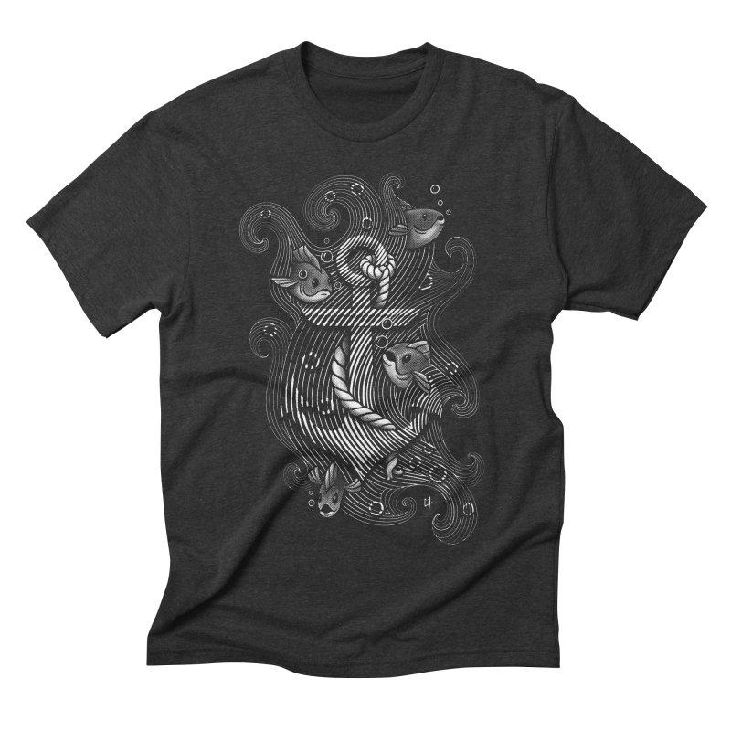 Lost Anchor Men's Triblend T-shirt by c0y0te7's Artist Shop