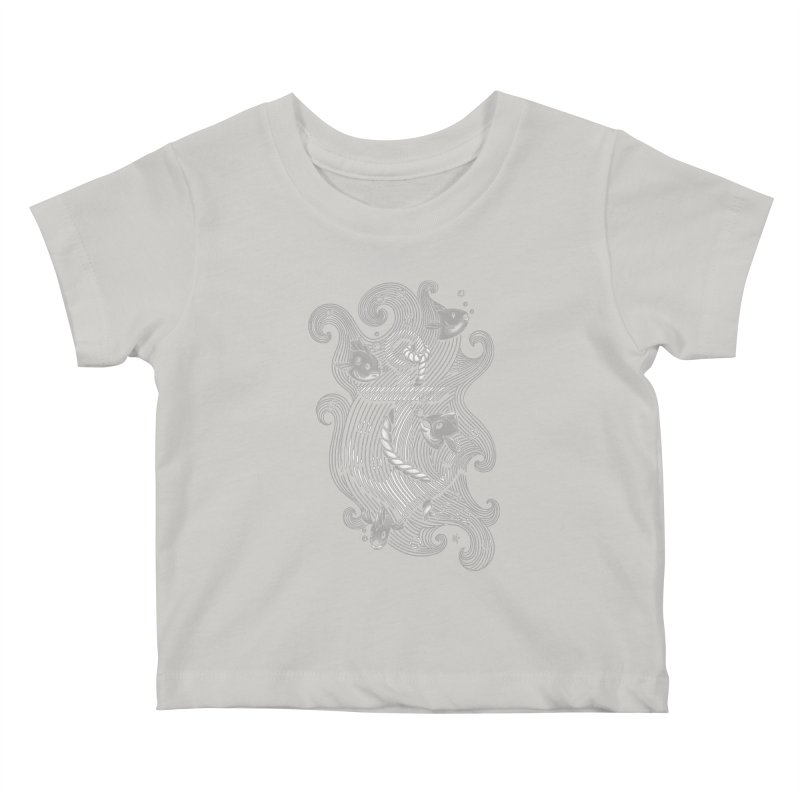 Lost Anchor Kids Baby T-Shirt by c0y0te7's Artist Shop