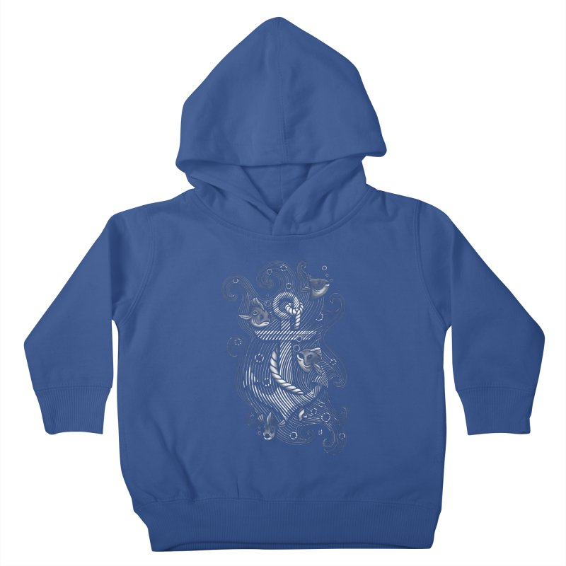 Lost Anchor Kids Toddler Pullover Hoody by c0y0te7's Artist Shop