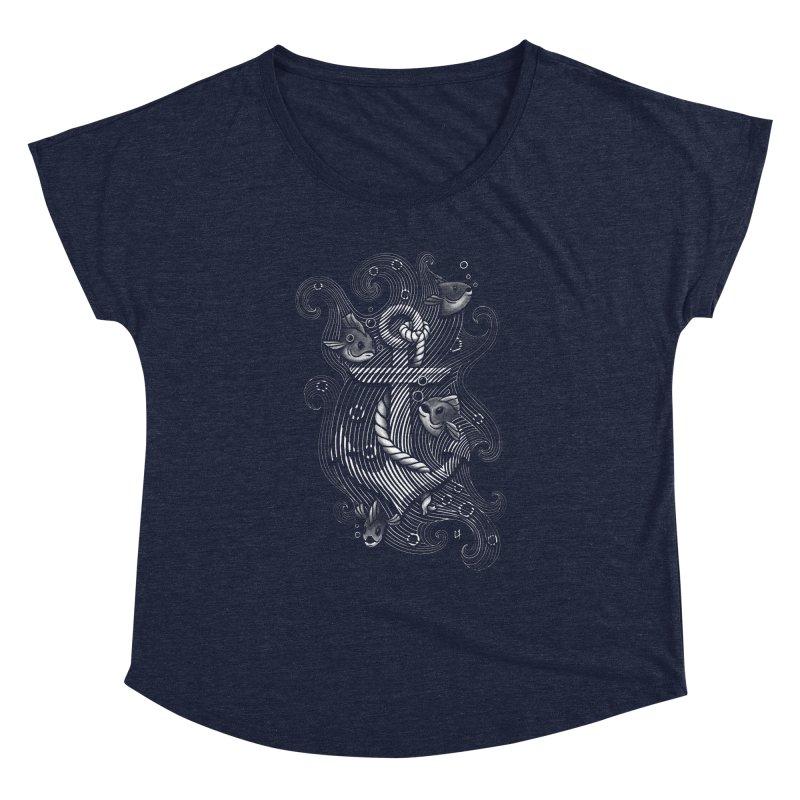 Lost Anchor Women's Dolman by c0y0te7's Artist Shop