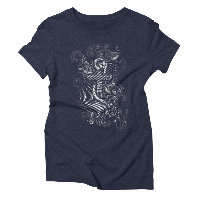 Lost Anchor Women's Triblend T-shirt by c0y0te7's Artist Shop