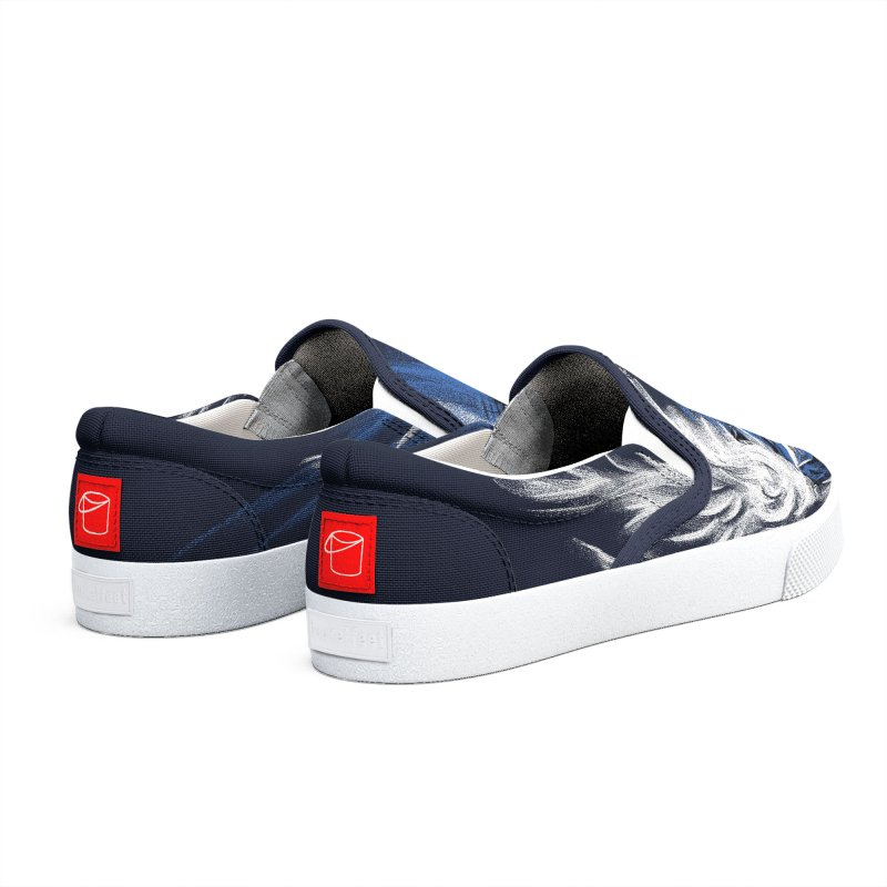 Blue Shell Attack Men's Shoes by c0y0te7's Artist Shop