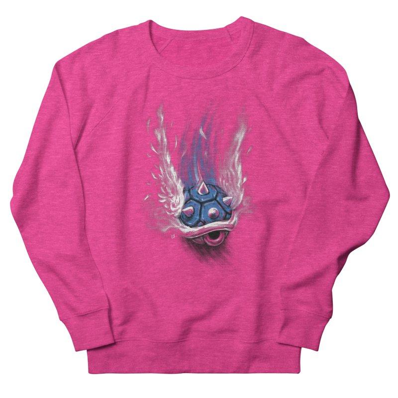 Blue Shell Attack Women's Sweatshirt by c0y0te7's Artist Shop