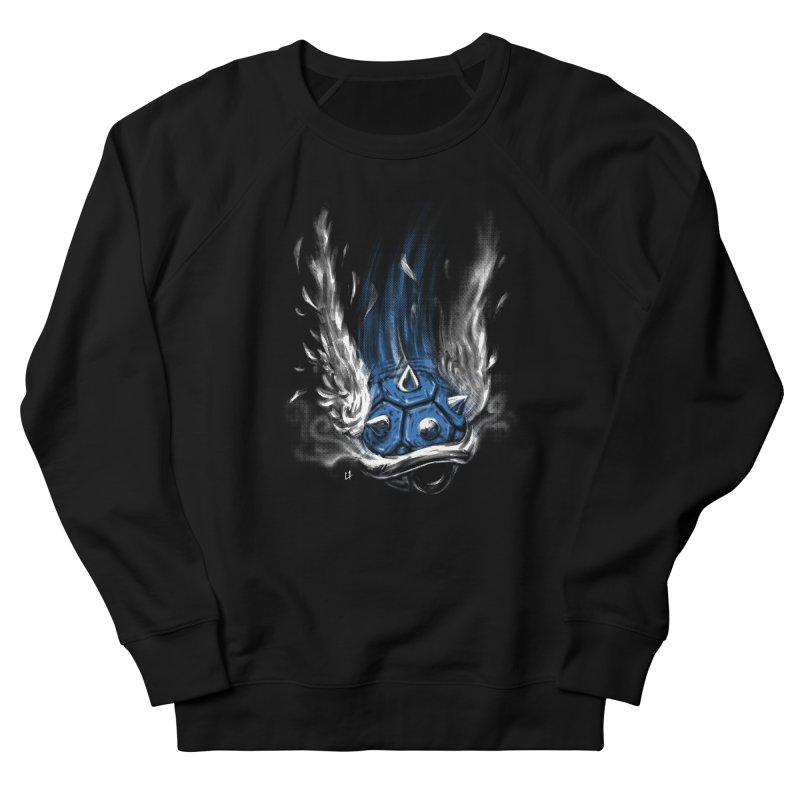 Blue Shell Attack Women's Sweatshirt by c0y0te7's Artist Shop