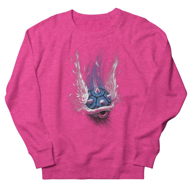 Blue Shell Attack Men's Sweatshirt by c0y0te7's Artist Shop