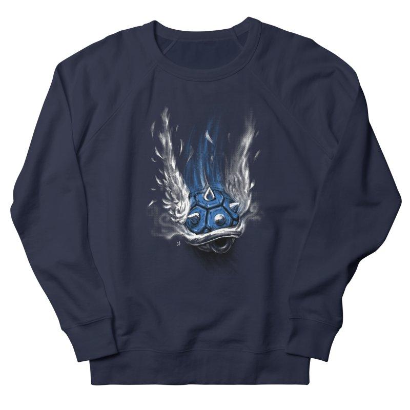 Blue Shell Attack Men's Sweatshirt by c0y0te7's Artist Shop