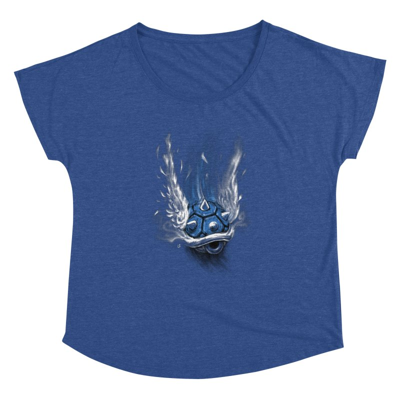 Blue Shell Attack Women's Dolman by c0y0te7's Artist Shop