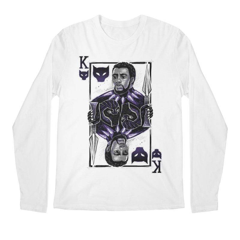 T'Challa King Card Men's Longsleeve T-Shirt by c0y0te7's Artist Shop