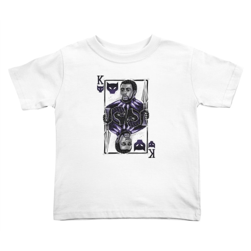 T'Challa King Card Kids Toddler T-Shirt by c0y0te7's Artist Shop