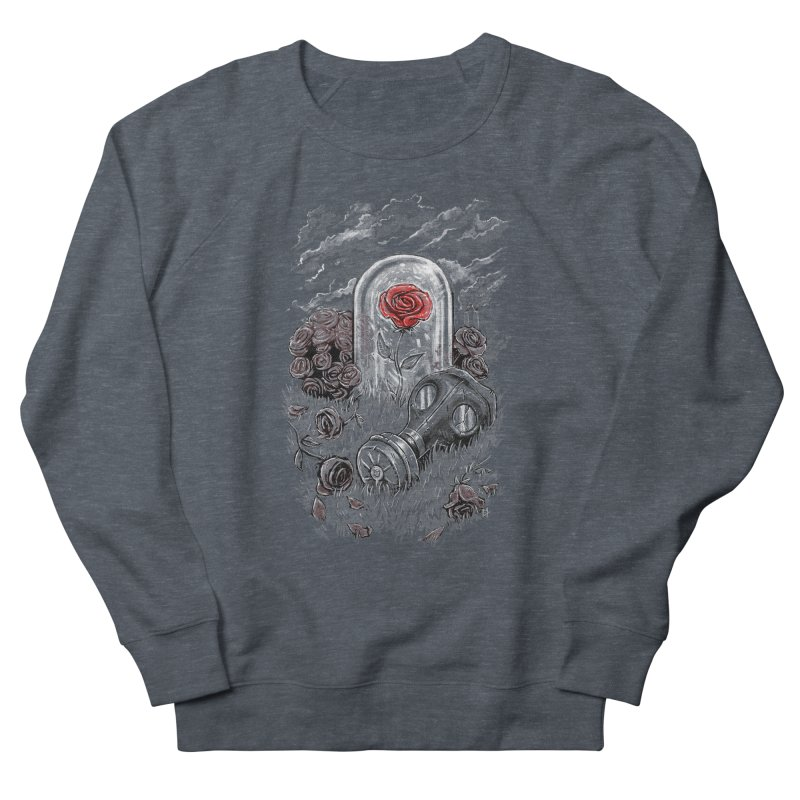 The Last Flower On Earth Men's Sweatshirt by c0y0te7's Artist Shop