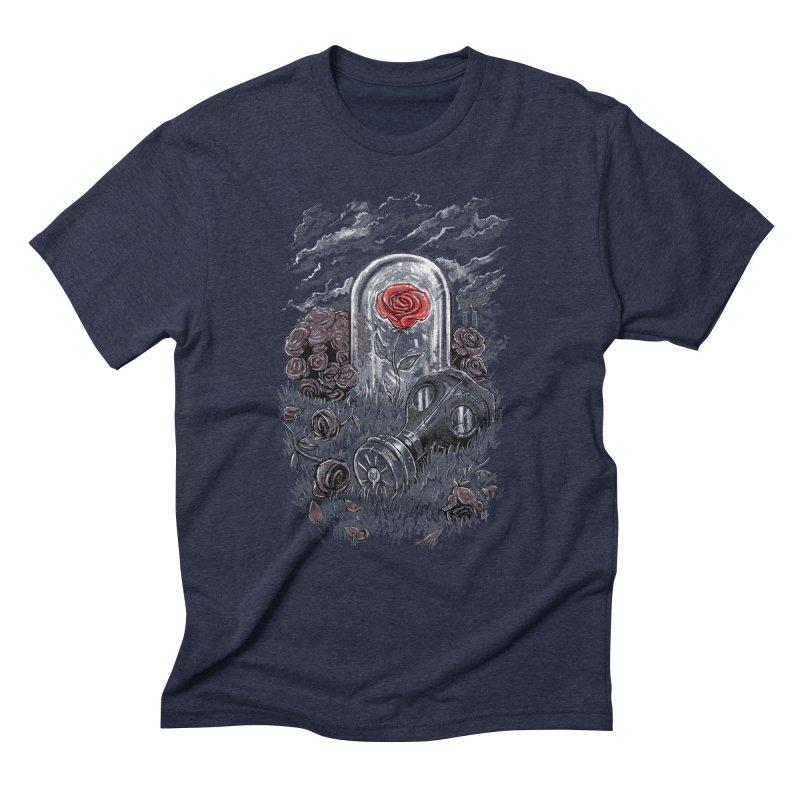 The Last Flower On Earth Men's Triblend T-shirt by c0y0te7's Artist Shop
