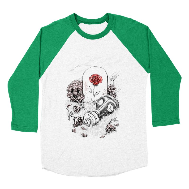 The Last Flower On Earth Men's Baseball Triblend T-Shirt by c0y0te7's Artist Shop