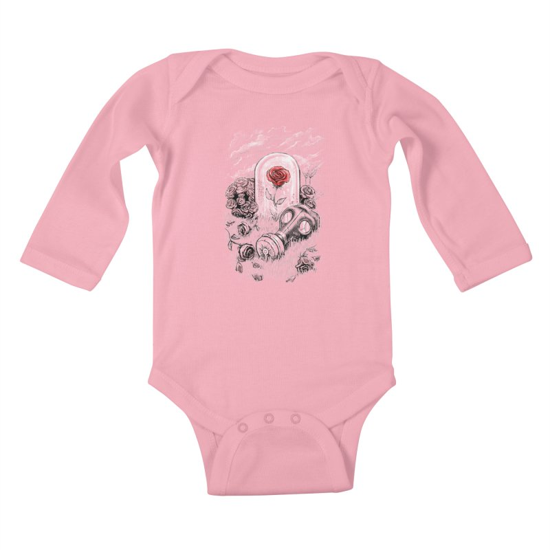 The Last Flower On Earth Kids Baby Longsleeve Bodysuit by c0y0te7's Artist Shop