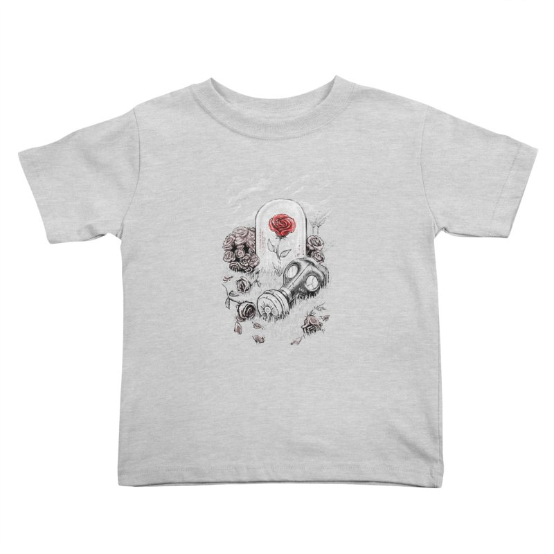 The Last Flower On Earth Kids Toddler T-Shirt by c0y0te7's Artist Shop
