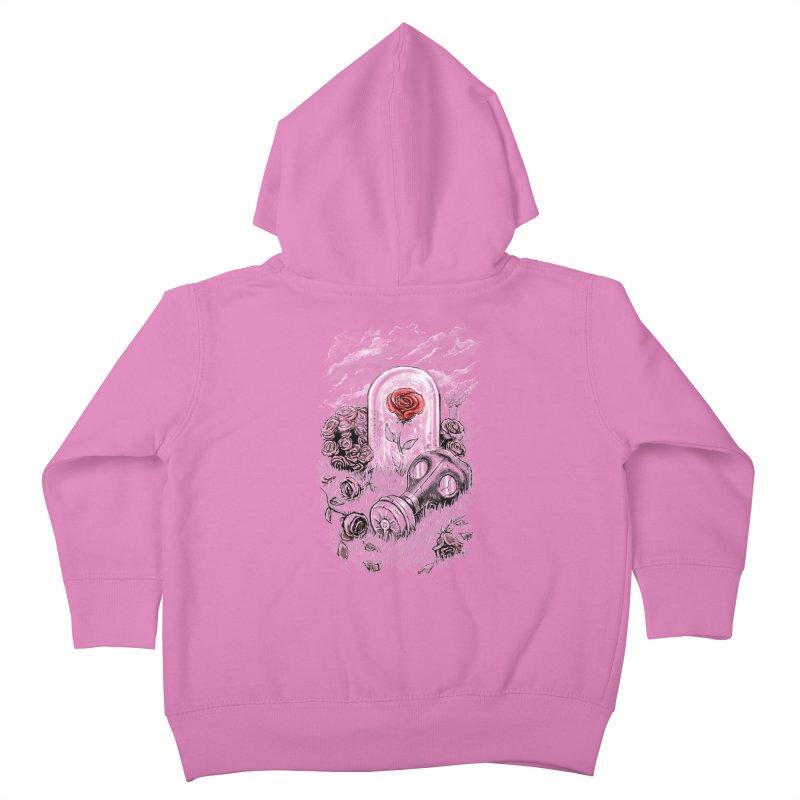 The Last Flower On Earth Kids Toddler Zip-Up Hoody by c0y0te7's Artist Shop