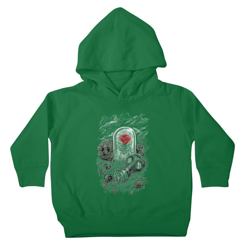 The Last Flower On Earth Kids Toddler Pullover Hoody by c0y0te7's Artist Shop