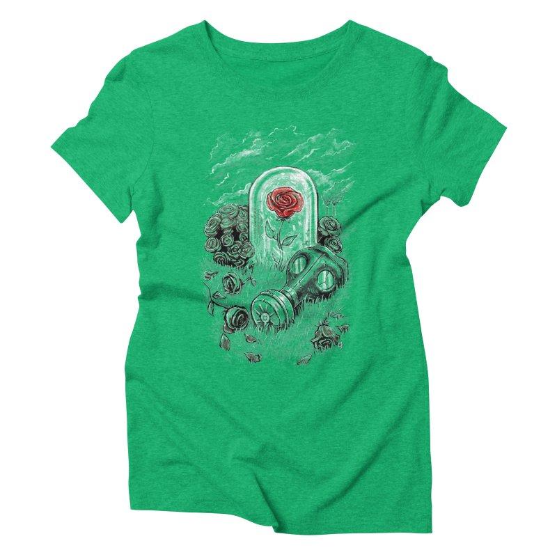 The Last Flower On Earth Women's Triblend T-shirt by c0y0te7's Artist Shop