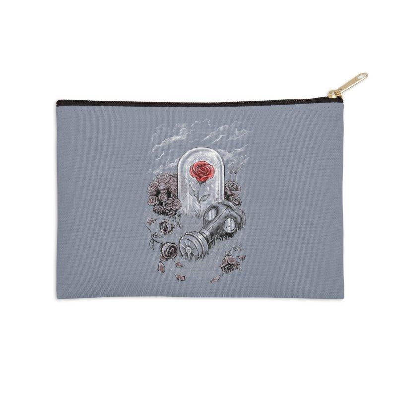 The Last Flower On Earth Accessories Zip Pouch by c0y0te7's Artist Shop