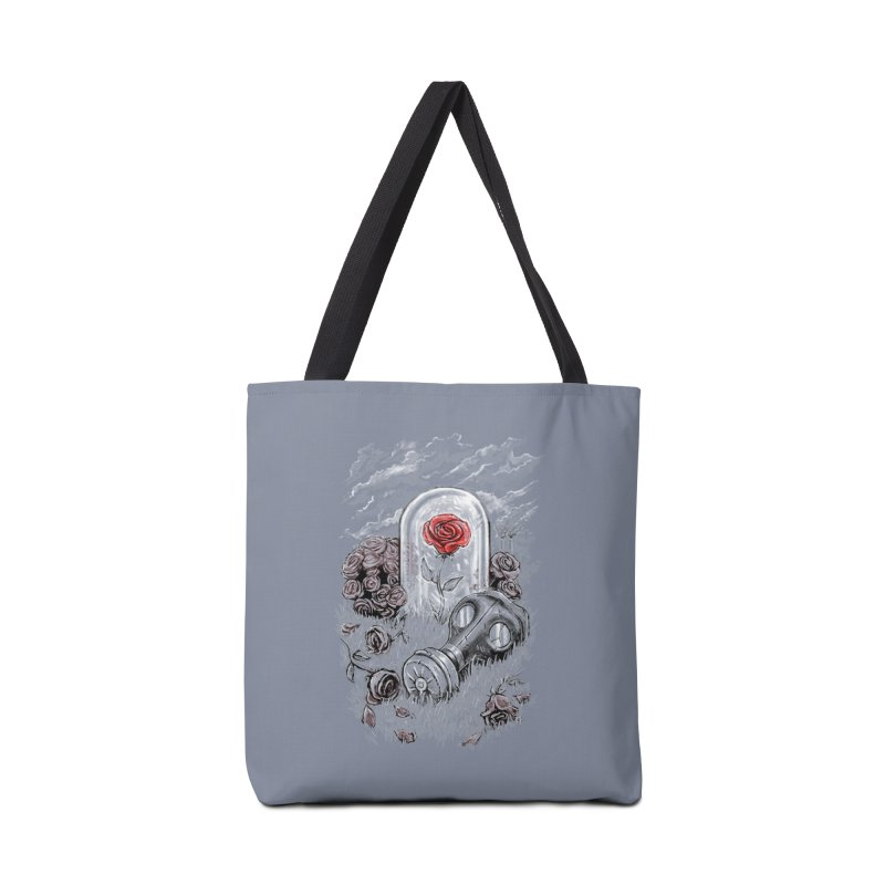 The Last Flower On Earth Accessories Bag by c0y0te7's Artist Shop