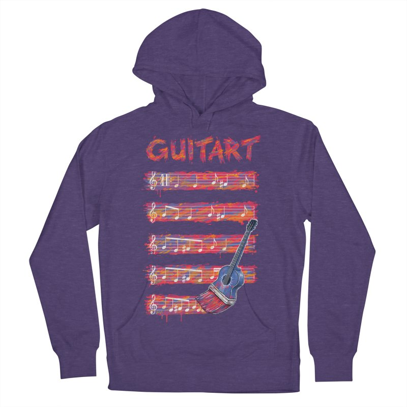 GuitArt Men's Pullover Hoody by c0y0te7's Artist Shop