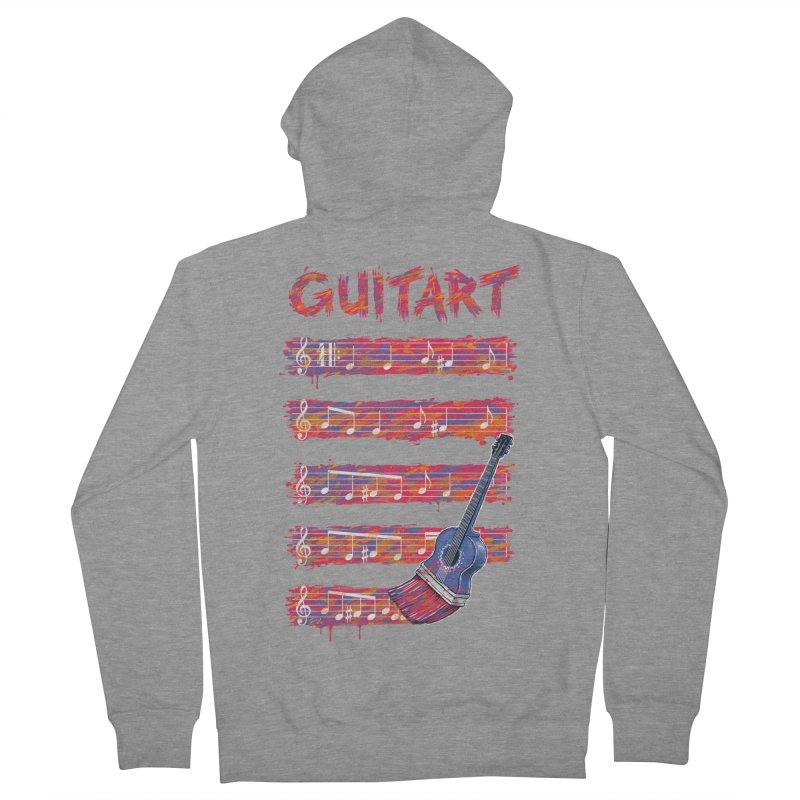 GuitArt Women's Zip-Up Hoody by c0y0te7's Artist Shop