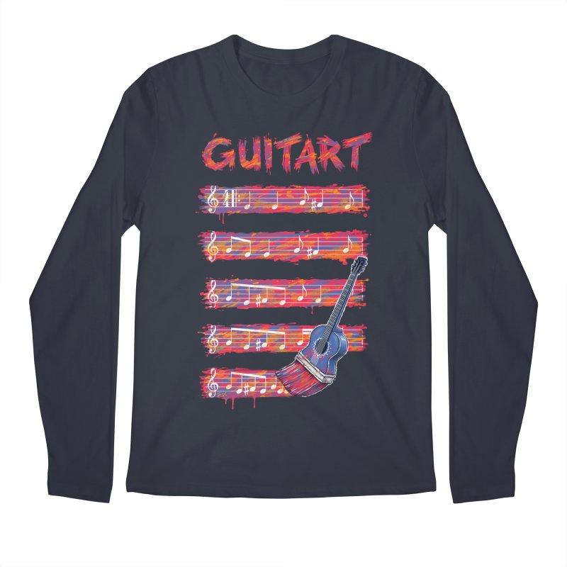 GuitArt Men's Longsleeve T-Shirt by c0y0te7's Artist Shop
