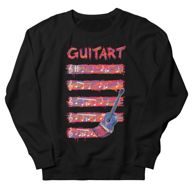 GuitArt Women's Sweatshirt by c0y0te7's Artist Shop