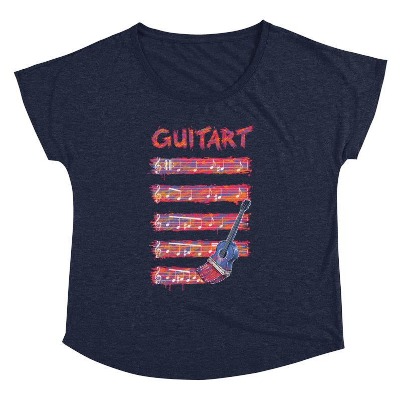 GuitArt Women's Dolman by c0y0te7's Artist Shop