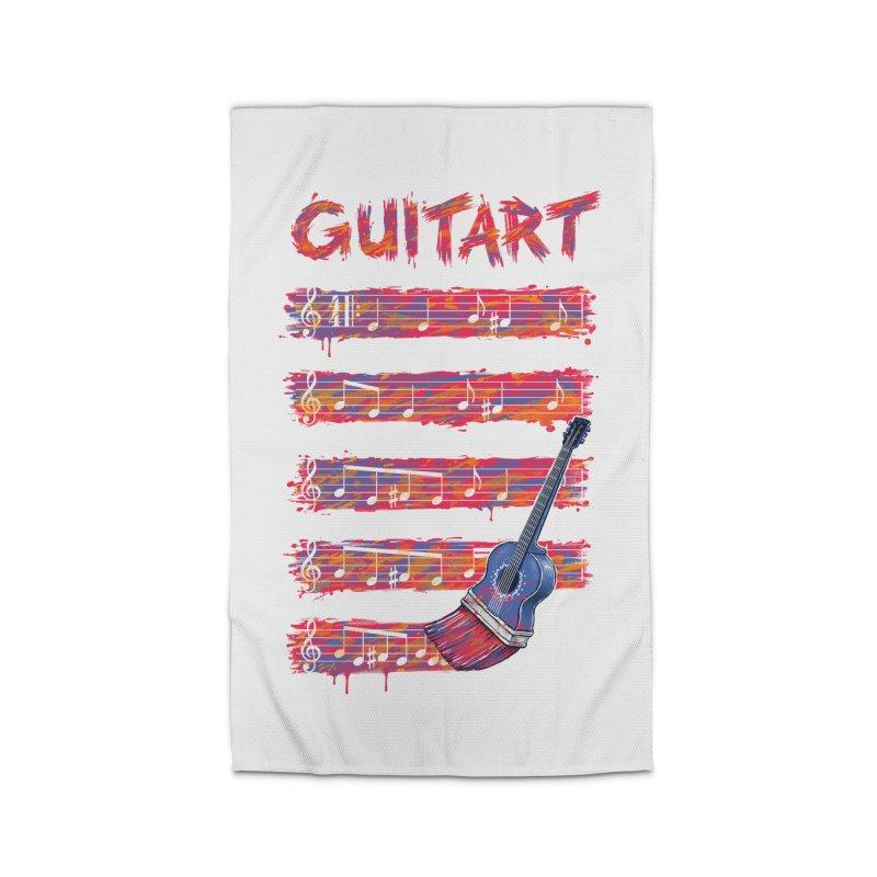 GuitArt Home Rug by c0y0te7's Artist Shop