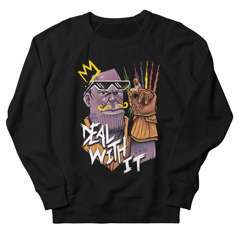 Thanos Deal With It Men's Sweatshirt by c0y0te7's Artist Shop