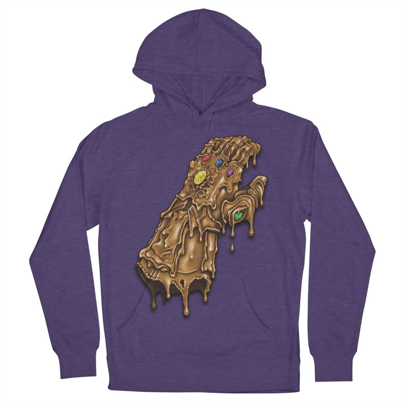 Melted Infinity Gauntlet Women's Pullover Hoody by c0y0te7's Artist Shop