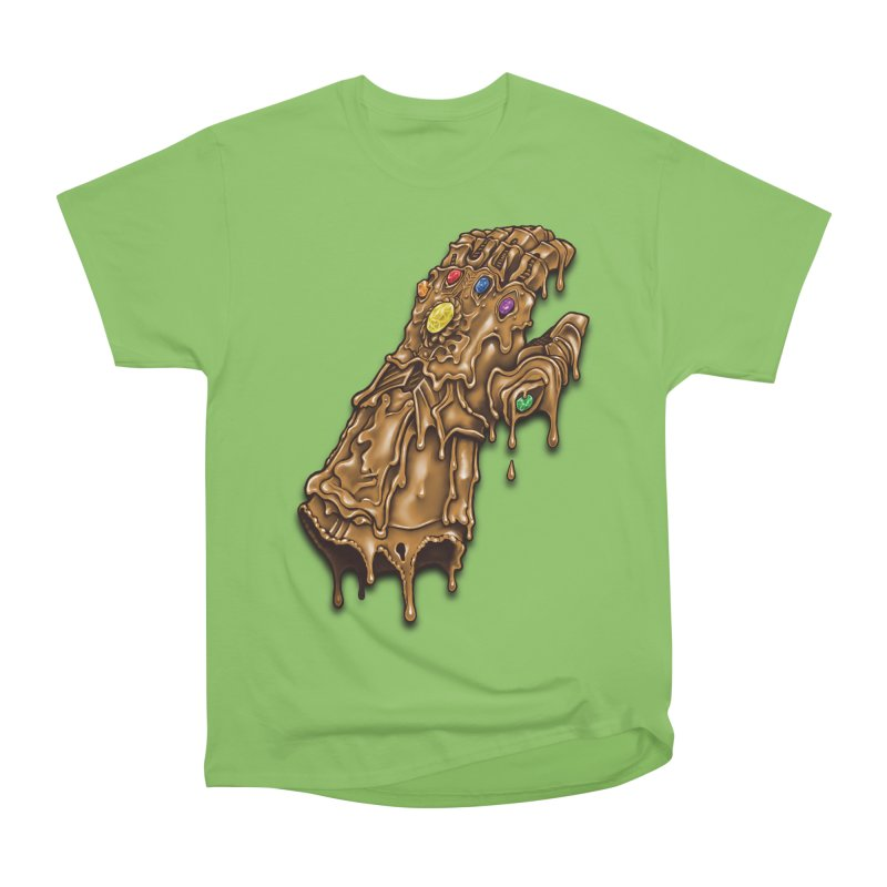 Melted Infinity Gauntlet Men's Heavyweight T-Shirt by c0y0te7's Artist Shop
