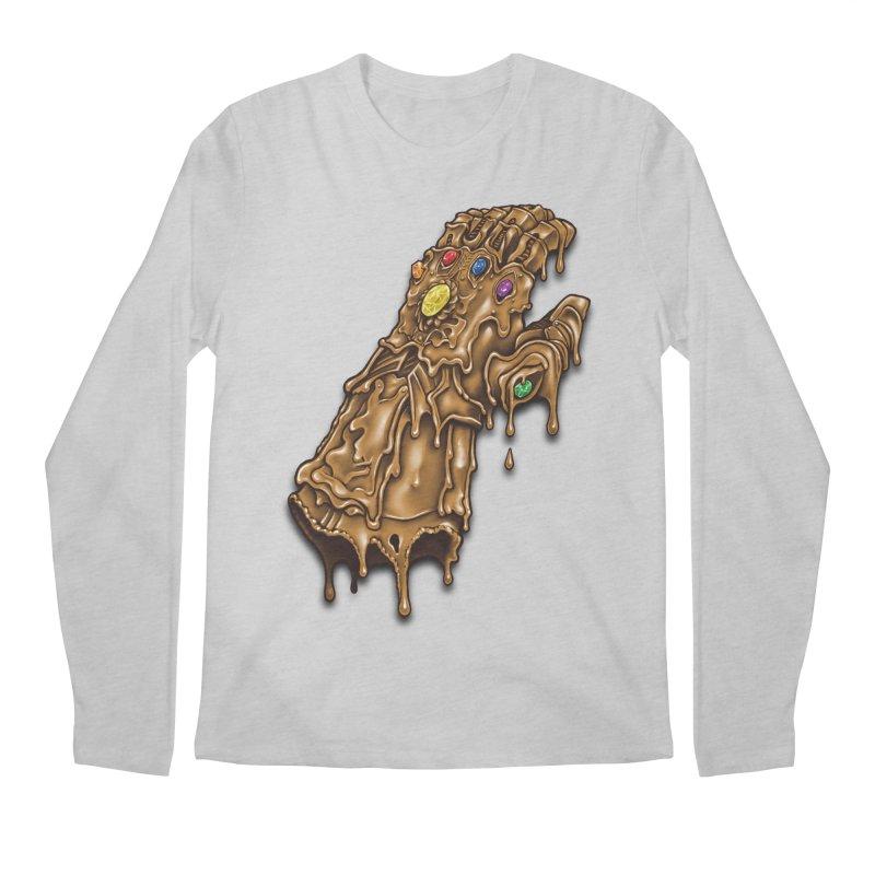 Melted Infinity Gauntlet Men's Longsleeve T-Shirt by c0y0te7's Artist Shop