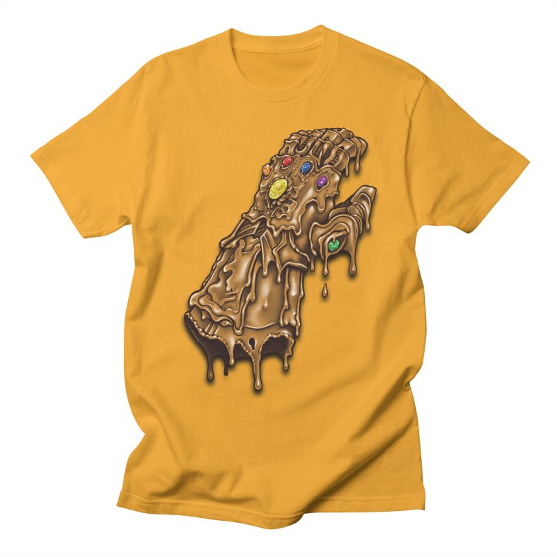 Melted Infinity Gauntlet Men's T-Shirt by c0y0te7's Artist Shop