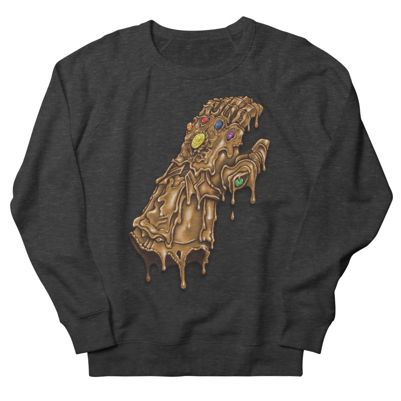 Melted Infinity Gauntlet Women's Sweatshirt by c0y0te7's Artist Shop