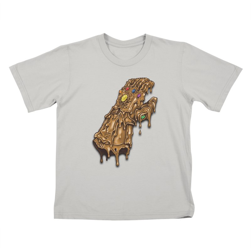 Melted Infinity Gauntlet Kids T-Shirt by c0y0te7's Artist Shop