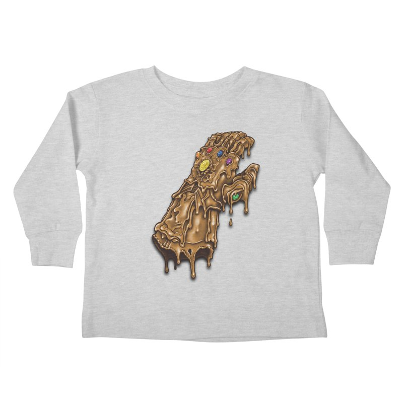 Melted Infinity Gauntlet Kids Toddler Longsleeve T-Shirt by c0y0te7's Artist Shop